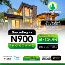 Land for sale Odometer Egiri Epe Road Epe Lagos