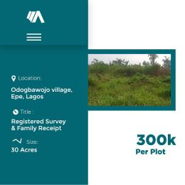 Land for sale Epe Lagos