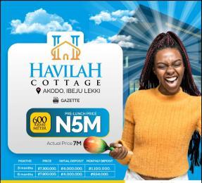 Residential Land Land for sale Havillah Cottage, Before Lekki Free Trade Zone Ibeju-Lekki Lagos