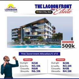 Residential Land Land for sale Lagoon Front Estate, Less Than 5Mins Drive To The New Int., Airport. Epe Lagos