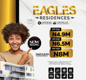 Land for sale Eagles Residence, Close To Dangote Expatriate Quarters, Oshoroko Free Trade Zone Ibeju-Lekki Lagos