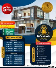 Residential Land for sale D Castonia Estate Bogije Sangotedo Lagos