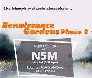 Residential Land Land for sale Close to Dangote refinery Free Trade Zone Ibeju-Lekki Lagos