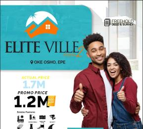 5 bedroom Residential Land Land for sale Elite-Ville Estate Phase2, Less Than 6-Mins Drive From Alaro-City. Okun Ajah Epe Lagos