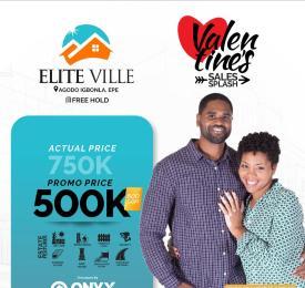 Residential Land Land for sale Elite Ville Estate.  Odo-Egiri Poka. Epe Lagos