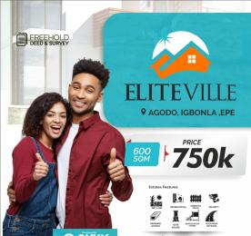 Residential Land for sale Elite Ville Estate. Odo Egiri Poka. Epe Lagos