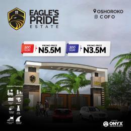 Residential Land Land for sale Eagle's Pride Estate, Oshoroko Free Trade Zone Ibeju-Lekki Lagos
