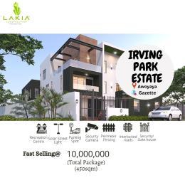 Land for sale  Oribawa bustop  Awoyaya Ajah Lagos