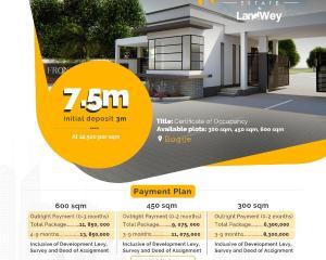 Serviced Residential Land Land for rent Beachwood estate  Bogije Sangotedo Lagos