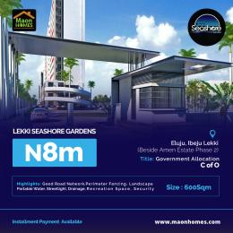 Residential Land Land for sale Eleko Road Eluju Ibeju-Lekki Lagos