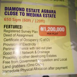 Mixed   Use Land Land for sale Diamond Estate Agbara Close to Medina Estate  Agbara Agbara-Igbesa Ogun