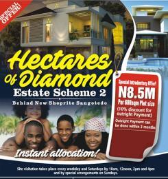 Serviced Residential Land Land for sale Very close to shangotedo shoprite Abijo Ajah Lagos
