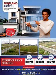 Residential Land Land for sale Foreland Court Phase1 Estate Behind Peninsula Gardens Estate By Blenco Supermarket Sangotedo Ajah Lagos