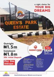 Serviced Residential Land Land for sale Mowe Ofada Obafemi Owode Ogun