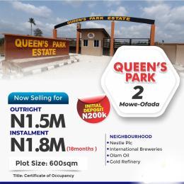 Mixed   Use Land for sale Located At Mowe Ofada By Sagamu Interchange Off Lagos Ibadan Expressway Lagos Nigeria Ofada Obafemi Owode Ogun