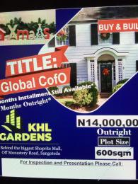 Serviced Residential Land Land for sale Behind The Shoprite Off Monastery Road  Sangotedo Ajah Lagos