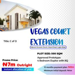 Residential Land Land for sale Adjacent Dunamis Church Airport rd  Lugbe Abuja