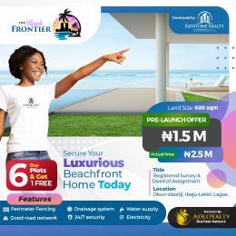 Residential Land for sale Okun Aboriji, Few Minutes From La Campaign Tropicana. Ibeju-Lekki Lagos