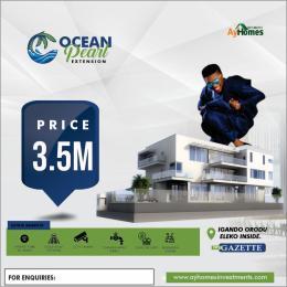 Residential Land Land for sale OCEAN PEARL EXTENSION WITH GAZETTE IGANDO ORIDU, ELEKO INSIDE FACING EXPRESS  Eleko Ibeju-Lekki Lagos