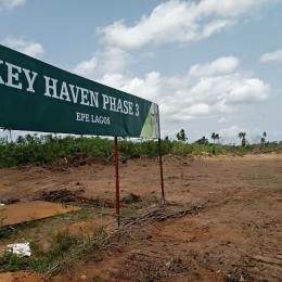 Serviced Residential Land Land for sale Key haven estate 3 ilara Epe very close to st Agustine university Epe Road Epe Lagos