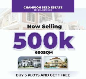 Mixed   Use Land Land for sale Ode-Omi  Ibeju-Lekki Lagos