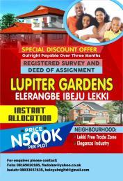 Mixed   Use Land Land for sale Igbogun, Ode Omi and Illara Eleranigbe Ibeju-Lekki Lagos
