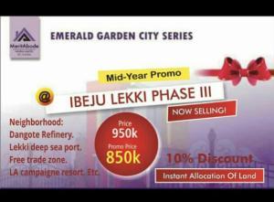 Mixed   Use Land Land for sale Imedu village Orimedu Ibeju-Lekki Lagos