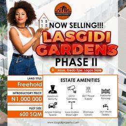 Residential Land for sale Iraye, Eredo Epe Lagos