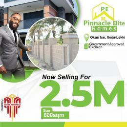 Residential Land Land for sale OKUN ISE  Eleko Ibeju-Lekki Lagos