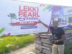 Residential Land Land for sale Beside Amity Estate by Oando Filling Station, Abijo. Abijo Ajah Lagos
