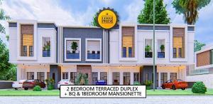 4 bedroom Semi Detached Duplex for sale Ajiwe Bus Stop, By Abraham Adesanya Roundabout, Lekki Epe Expressay Abraham adesanya estate Ajah Lagos