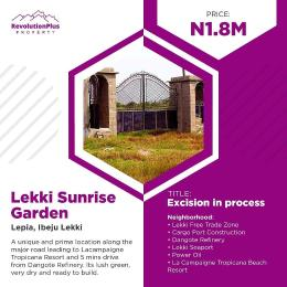 Land for sale LaCampaigne Tropicana Ibeju-Lekki Lagos