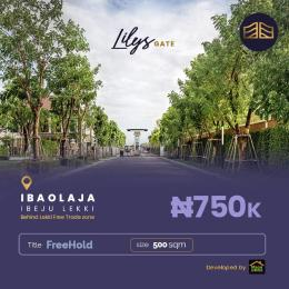 Residential Land Land for sale Iba Oloja Epe Lagos