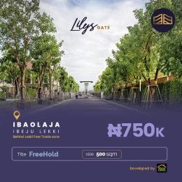 Residential Land Land for sale Iba Oloja Ibeju-Lekki Lagos