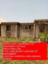 3 bedroom Self Contain Flat / Apartment for sale liverpool area Igbogbo Ikorodu Lagos
