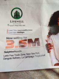Mixed   Use Land for sale Ogogoro Village Ogogoro Ibeju-Lekki Lagos