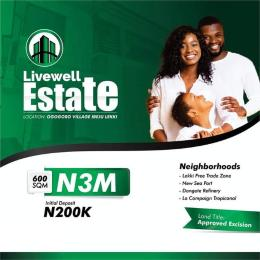 Mixed   Use Land Land for sale Federal technical college Ogogoro Ibeju-Lekki Lagos