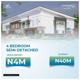 4 bedroom Semi Detached Duplex for sale Camberwall Courts 2, 4 Minutes From Novare A Shoprite Abijo Ajah Lagos