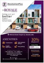 4 bedroom Terraced Duplex for sale Royale Terrace Ologolo Lekki Lagos