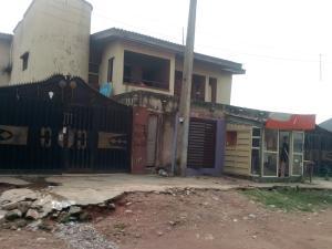 1 bedroom mini flat  Detached Duplex House for sale Aloba Street, Majiyagbe. Ipaja Ipaja Lagos