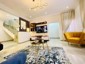 4 bedroom Terraced Duplex for shortlet Close To Elegushi Beach Ikate Lekki Lagos