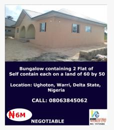 Detached Bungalow House for sale Ughoton Warri Delta state Nigeria Warri Delta