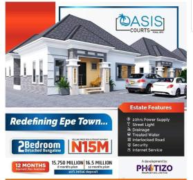 2 bedroom Detached Bungalow for sale Oasis Court Epe Road Epe Lagos