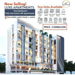 1 bedroom mini flat  Shared Apartment Flat / Apartment for sale Off fola osibo Lekki Phase 1 Lekki Lagos