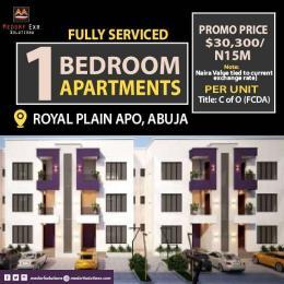 1 bedroom mini flat  Mini flat Flat / Apartment for sale Royal Plain Estate Apo Abuja