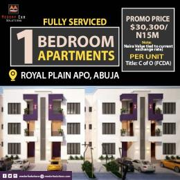 1 bedroom mini flat  Flat / Apartment for sale In A Secured Estate Apo Abuja
