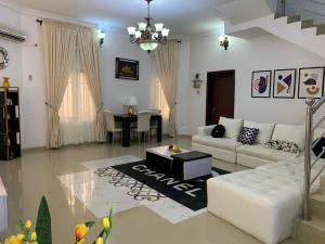 Terraced Duplex House for shortlet By Chevron  Ikota Lekki Lagos