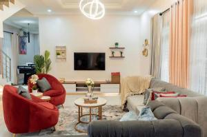 3 bedroom Terraced Duplex House for shortlet Spar Road  Lekki Lagos