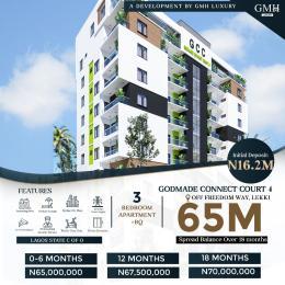 3 bedroom Blocks of Flats for sale Freedom Way Lekki Phase 1 Lekki Lagos