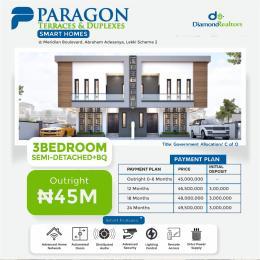 3 bedroom Semi Detached Duplex for sale Ogombo Abraham adesanya estate Ajah Lagos